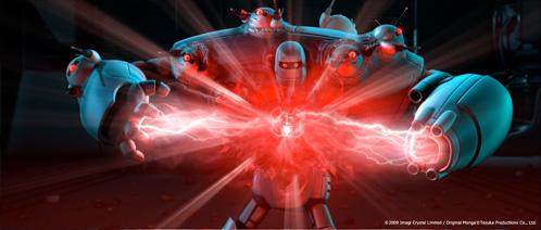 Peacekeeper, la Némesis de Astro Boy