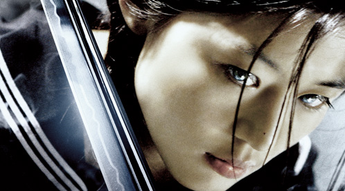 Nueva imagen de Gianna Jun como Saya en Blood: The Last Vampire