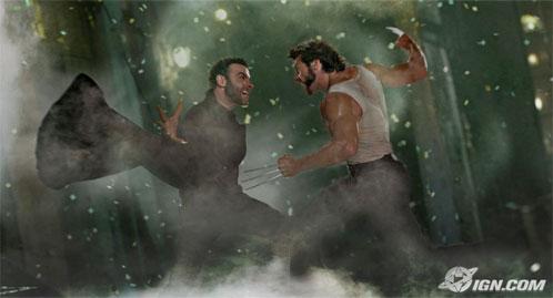 Creed y Logan zurrándose