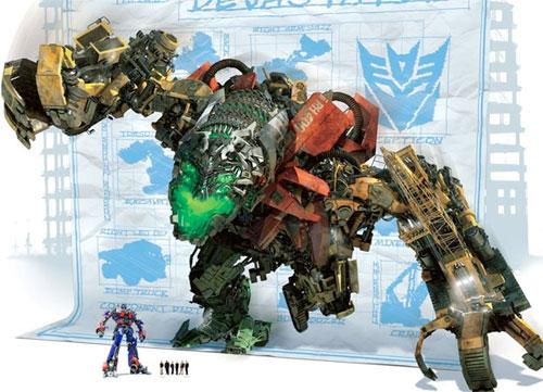 Como la cosa sea así Optimus Prime lo tendrá crudo...