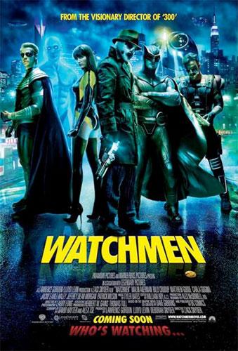 Nuevo cartel de Watchmen