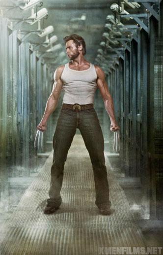Más promoción corporal de Hugh Jackman en X-Men Origins: Wolverine
