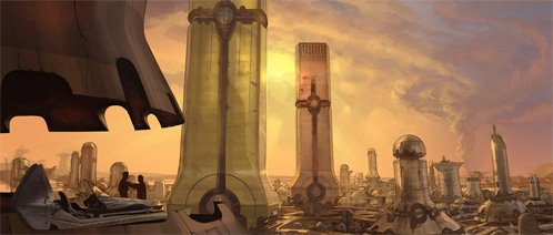 John Carter of Mars. The City of Helium