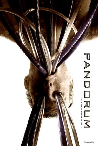 Desagradable póster de Pandorum