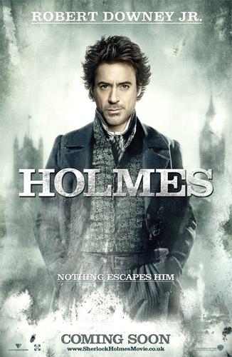 Robert Downey Jr. como Holmes