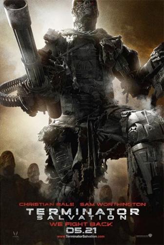Uno de los carteles de Terminator Salvation