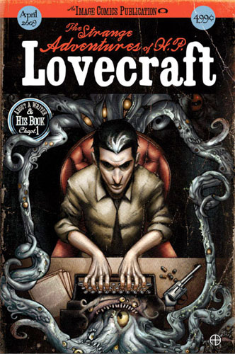 "Porta da de ""The Strange Adventures of H.P. Lovecraft"""
