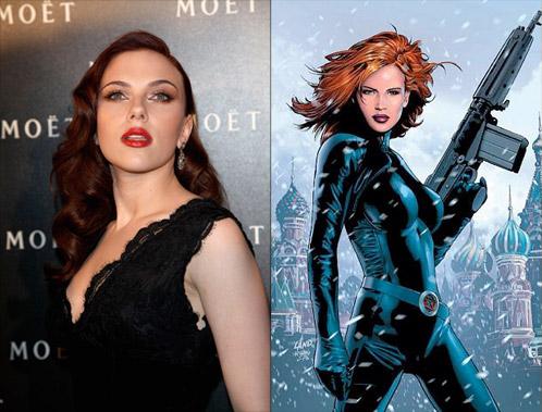 Scarlett Johansson se acerca cada vez más a Black Widow