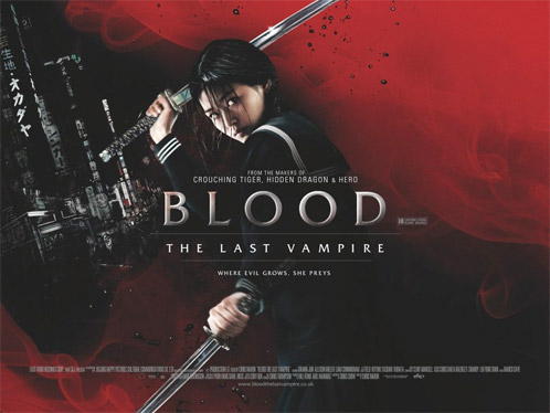 Nuevo póster de Blood: The Last Vampire