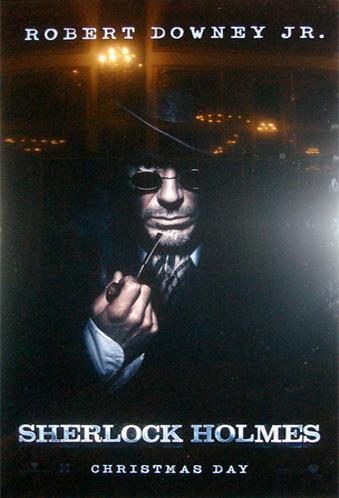 Primer teaser póster de Sherlock Holmes