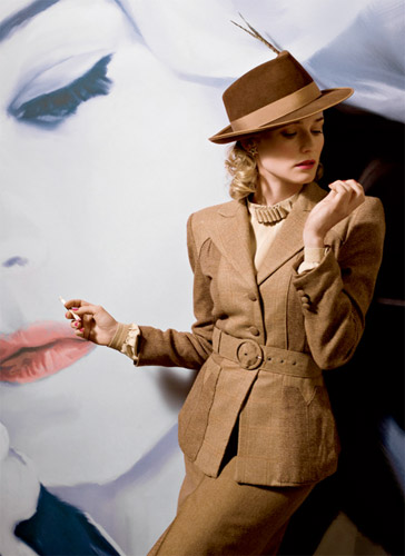 Diane Kruger como la actriz de Bridget von Hammersmark
