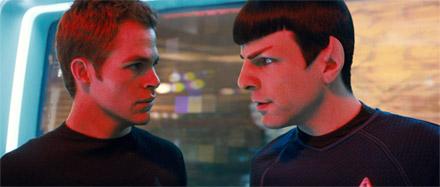 Kirk vs. Spock, Pine vs. Quinto