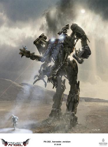 Arte conceptual de Terminator Salvation
