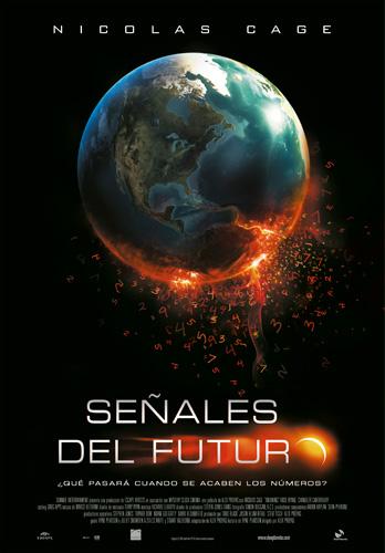 Póster español de Señales del futuro (Knowing)
