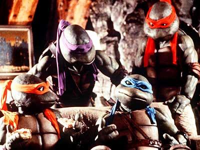 Las tortugas mutantes de los noventa...