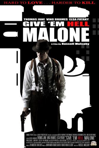 Segundo póster de Give 'em Hell Malone