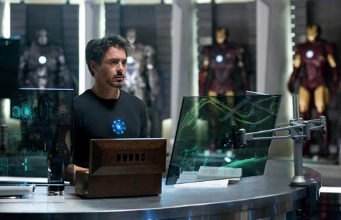 Primera imagen de Iron Man 2 (eso son cuatro armaduras)!