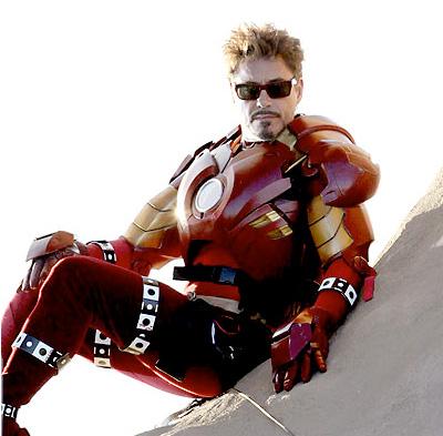 Tony Stark en modo relax
