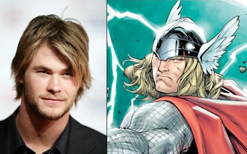 ¿Ha seleccionado Marvel Studios a Chris Hemsworth como Thor?