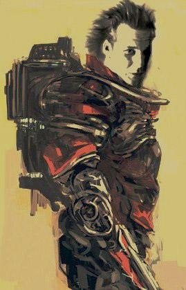 ¿primer arte conceptual de Whiplash para Iron Man 2?