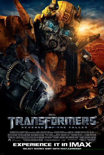Nuevo cartel de Transformers: Revenge of the Fallen para salas IMAX