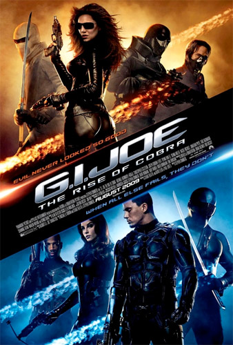 Cartel internacional de G.I. Joe: The Rise of Cobra