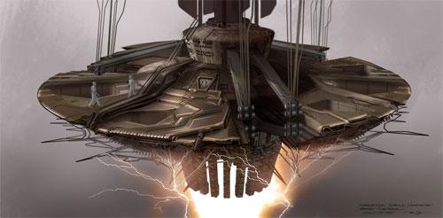 Arte conceptual de James Clyne para Star Trek