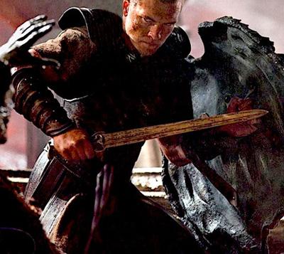 Sam Worthington como Persus en Clash of the Titans
