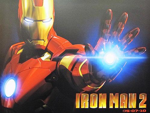Cartel de Iron Man 2