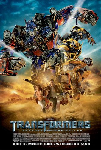 Otro cartel más de Transformers: Revenge of the Fallen