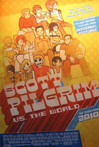 Cartel de Scott Pilgrim vs. The World
