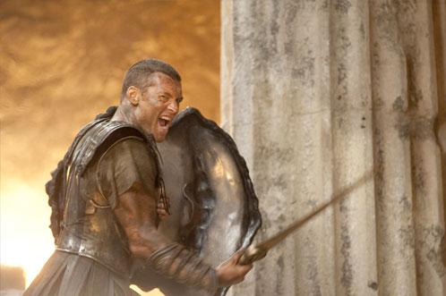 Perseus (Sam Worthington) en modo cabreo