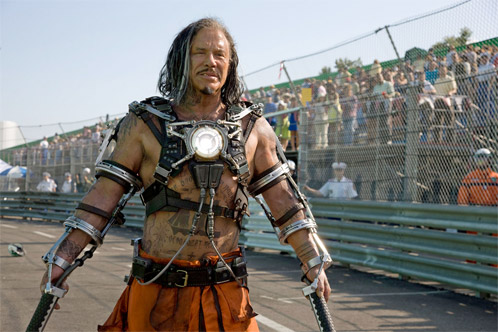 Mickey Rourke como Ivan Vanko a.k.a. Whiplash