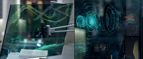 En un monitor el circuito de Mónaco, en el otro la célula de Whiplash