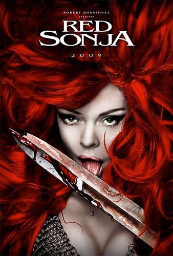 Póster de la Comic-Con 2008 para Red Sonja