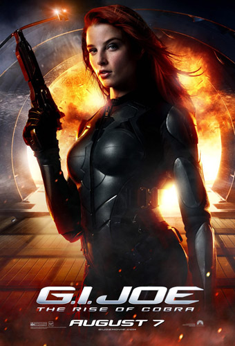 Póster de Scarlett de G.I. Joe: The Rise of Cobra