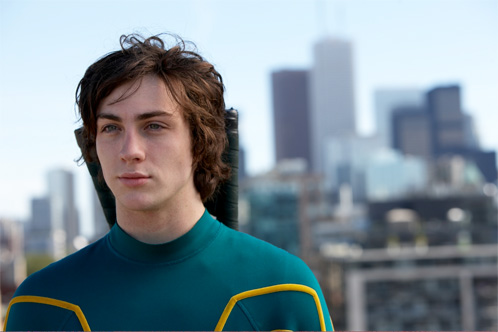 Aaron Johnson como Kick-Ass / Dave