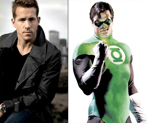 Ryan Reynolds será Hal Jordan en The Green Lantern