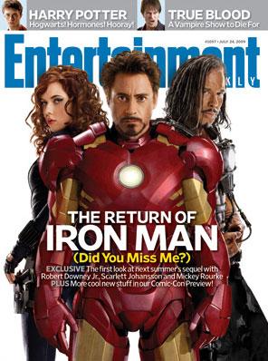 Portada de Entertainment Weekly para Iron Man 2