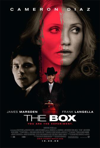 Póster final de The Box