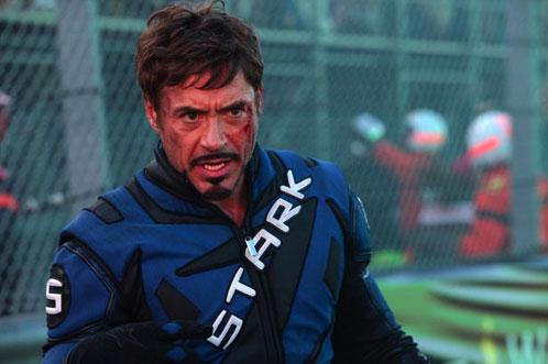 ¿Tony Stark alucinando con?