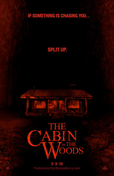 Póster de Cabin in the Woods