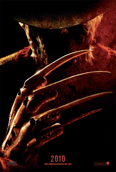 Primer póster de A Nightmare on Elm Street