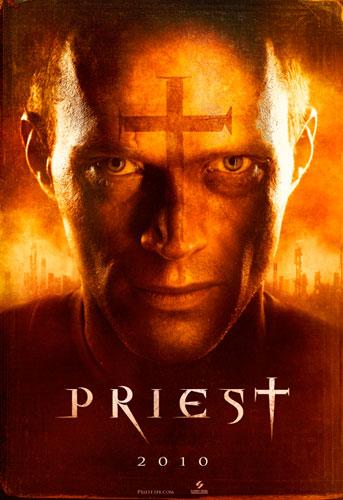 Teaser póster de Priest