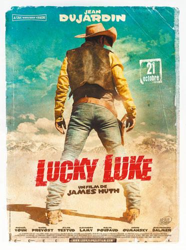 Póster de Lucky Luke