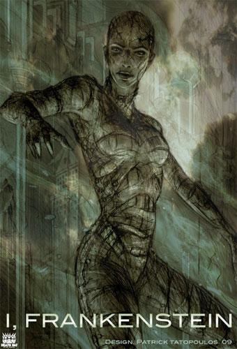 Arte conceptual de I, Frankestein