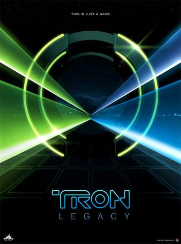 Póster falso de Tron Legacy gracias a /Films