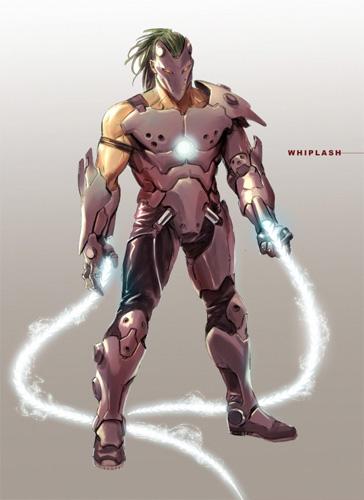 ¿Será así el Whiplash de Iron Man 2?