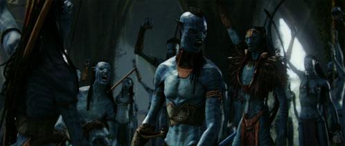 Más guerreros Na'vi