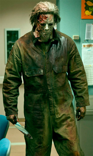 Vistazo cristalino de Michael Myers en Halloween 2